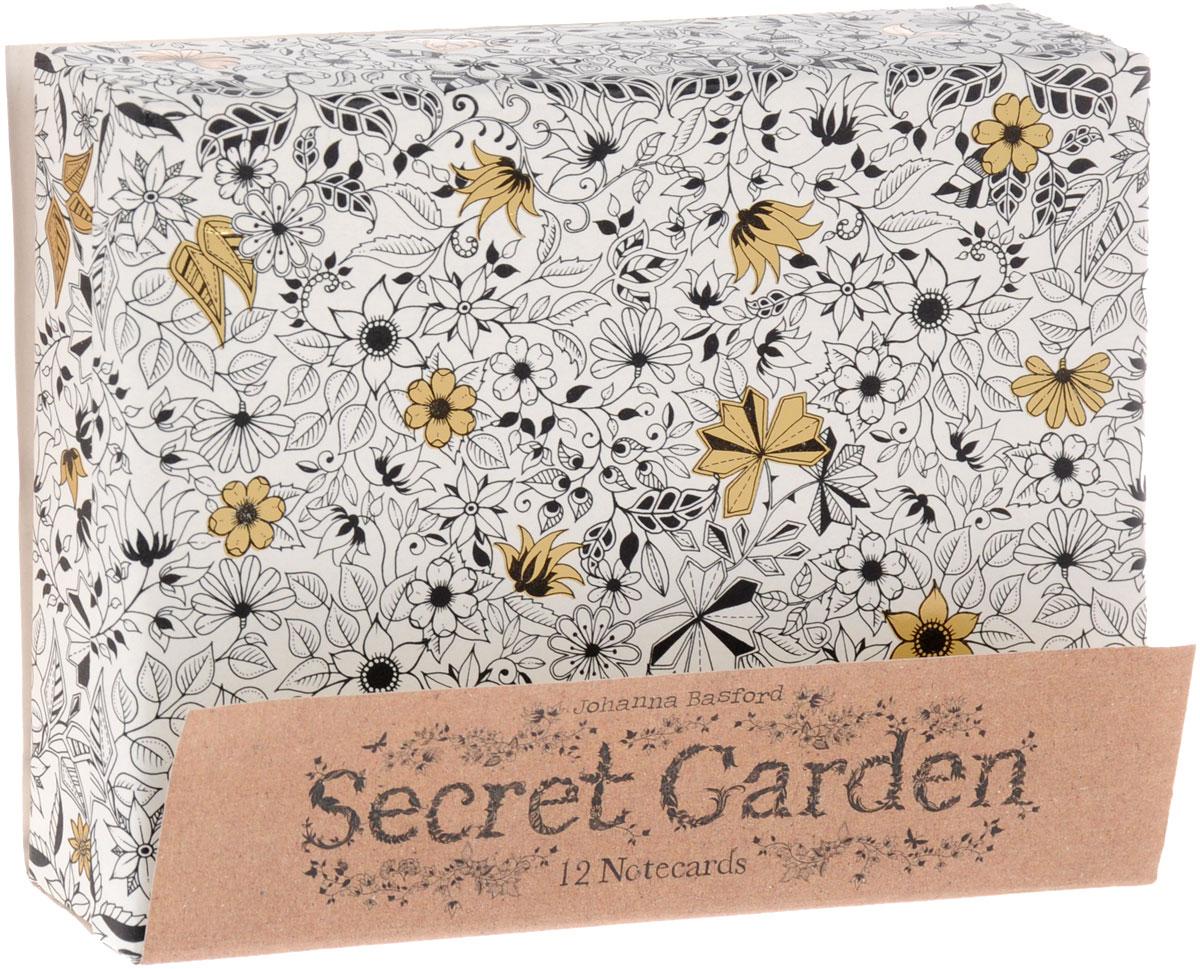 Secret Garden: 12 Notercard rspb wildlife in your garden