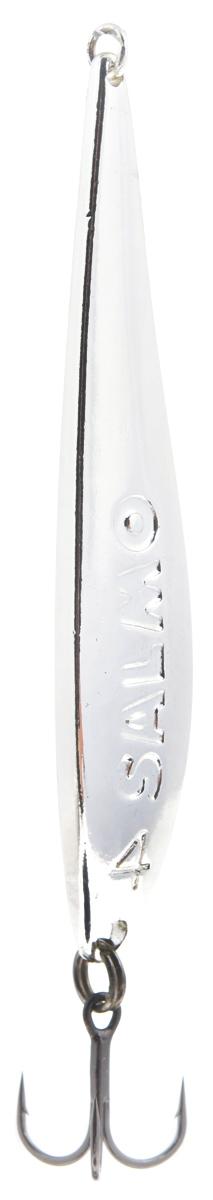 Блесна вертикальная зимняя Lucky John, цвет: серебряный, 6,7 см, 11 г lucky john croco spoon big game mission 24гр 004