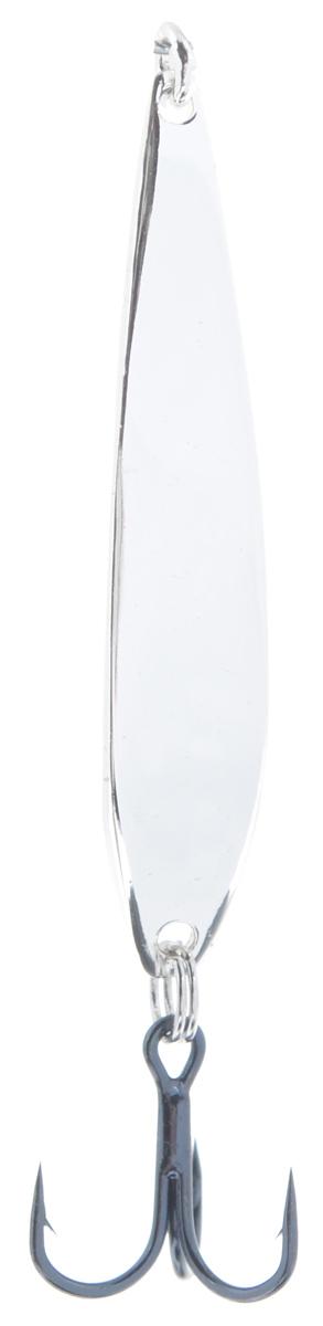Блесна вертикальная зимняя Lucky John Model H, цвет: серебряный, 3 см, 2 г