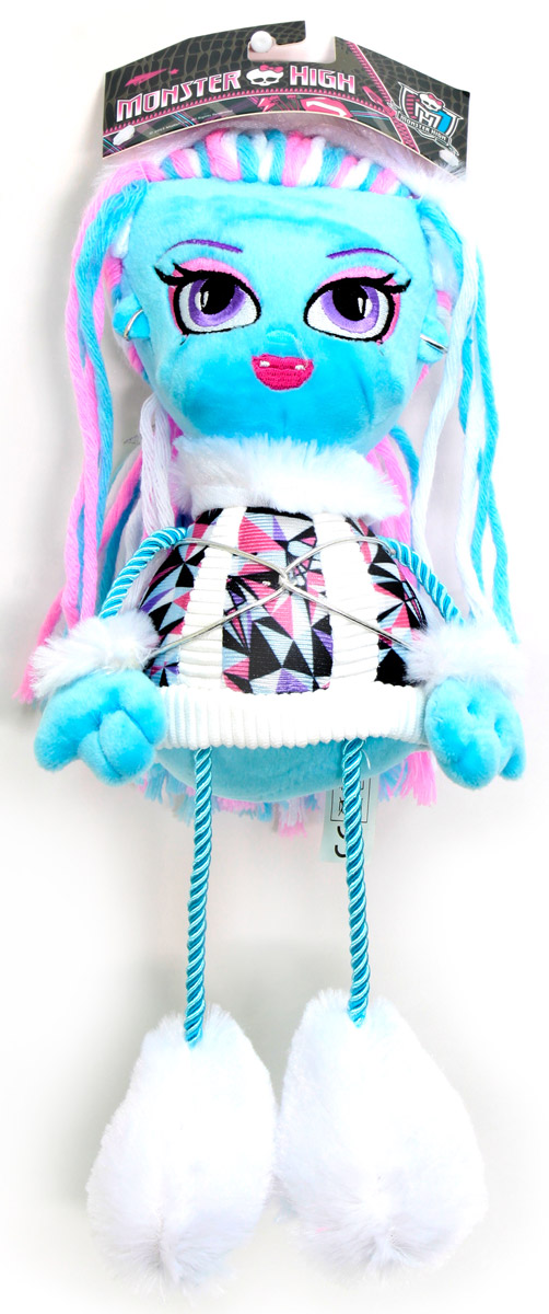 Monster High Кукла плюшевая Эбби monster high кукла большой кошмарный риф лагуна блю