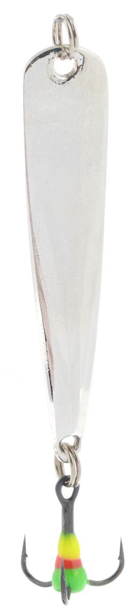 Блесна зимняя SWD, цвет: серебряный, 50 мм, 4 г