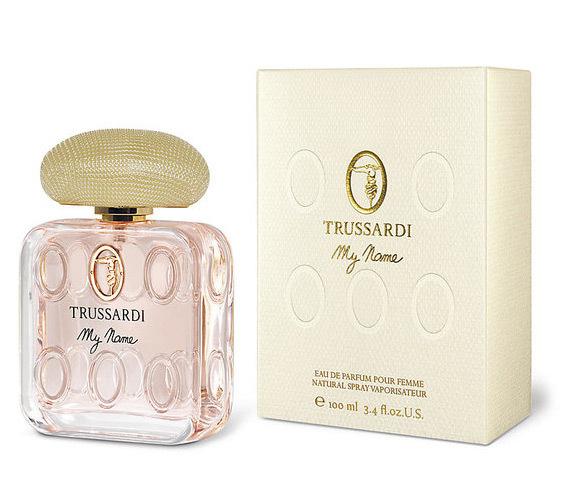 TRUSSARDI MY NAME WOMAN парфюмированная вода 100МЛ12443Свежие, цветочные. Гелиотроп, фиалка, мускус, сирень, ваниль, янтарь