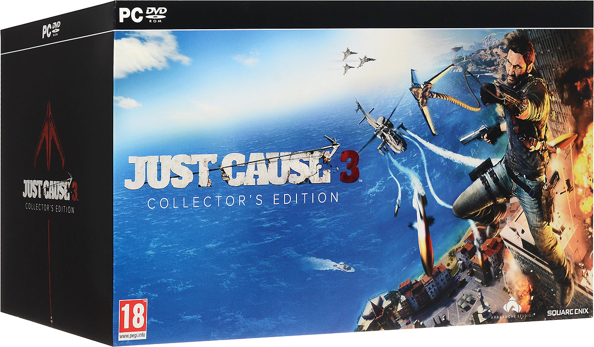 Just Cause 3. Collector's Edition