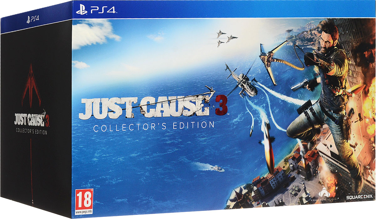 Just Cause 3. Collector's Edition (PS4) игра для playstation 4 just cause 3 collector s edition