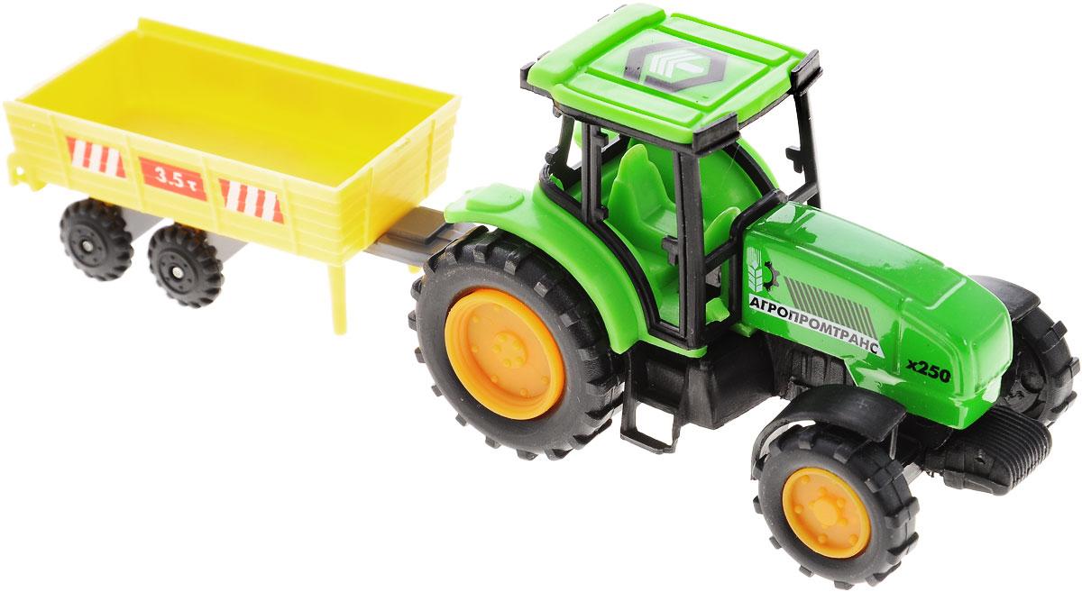 купить ТехноПарк Трактор Агропромтранс х250 с телегой по цене 201 рублей