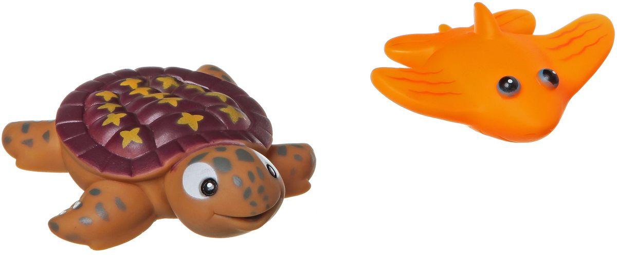 Bondibon Набор для купания Черепаха, Скат bondibon копилка в технике декопатч сердечко