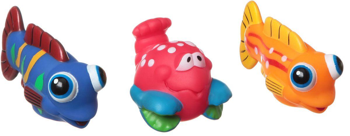 Bondibon Набор для купания Краб, Рыбки игрушка для купания bondibon слоненок вв1873