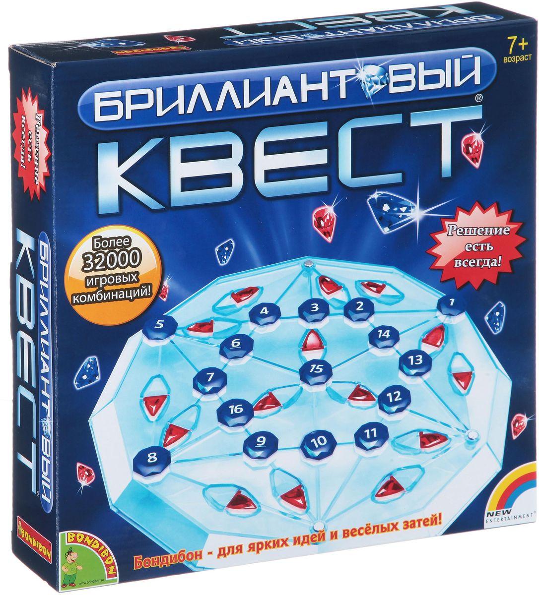 Bondibon Обучающая игра Бриллиантовый квест bondibon обучающая игра камелот