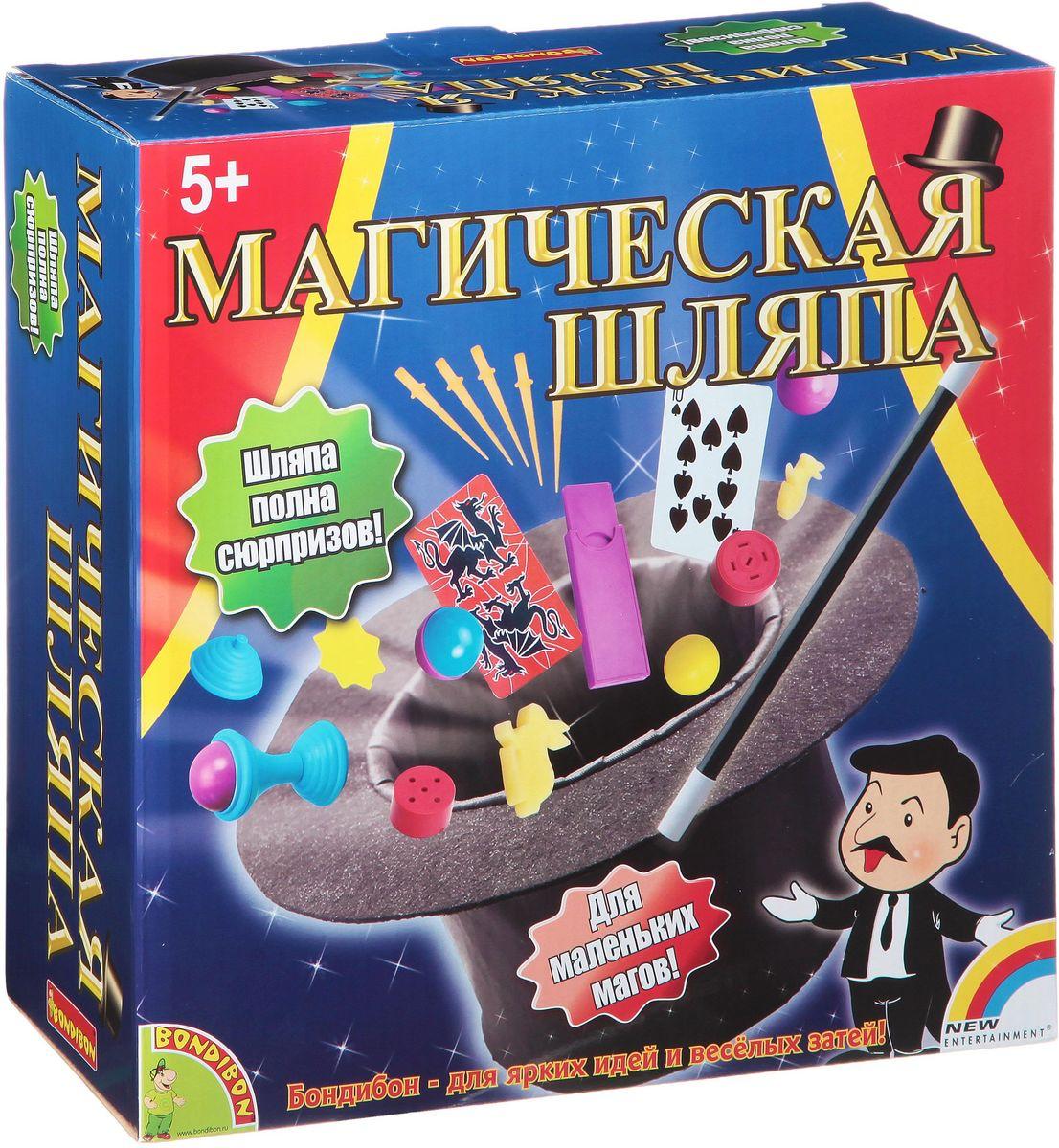 Bondibon Обучающая игра Магическая шляпа 4м набор первые фокусы
