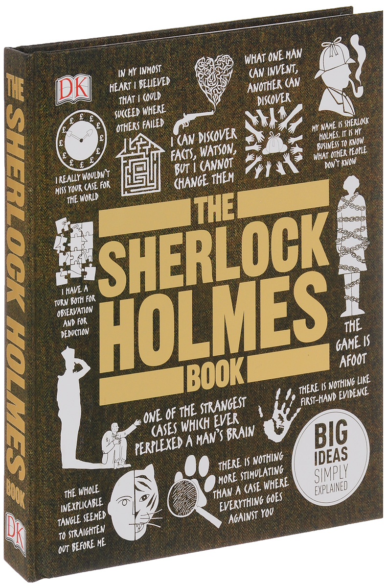 The Sherlock Holmes Book a study in scarlet and the adventures of sherlock holmes