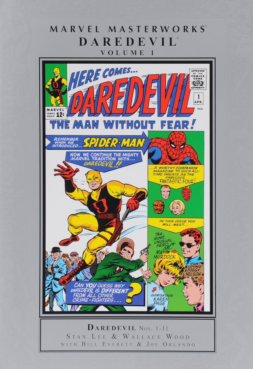 Marvel Masterworks: Daredevil: Volume 1 daredevil volume 3
