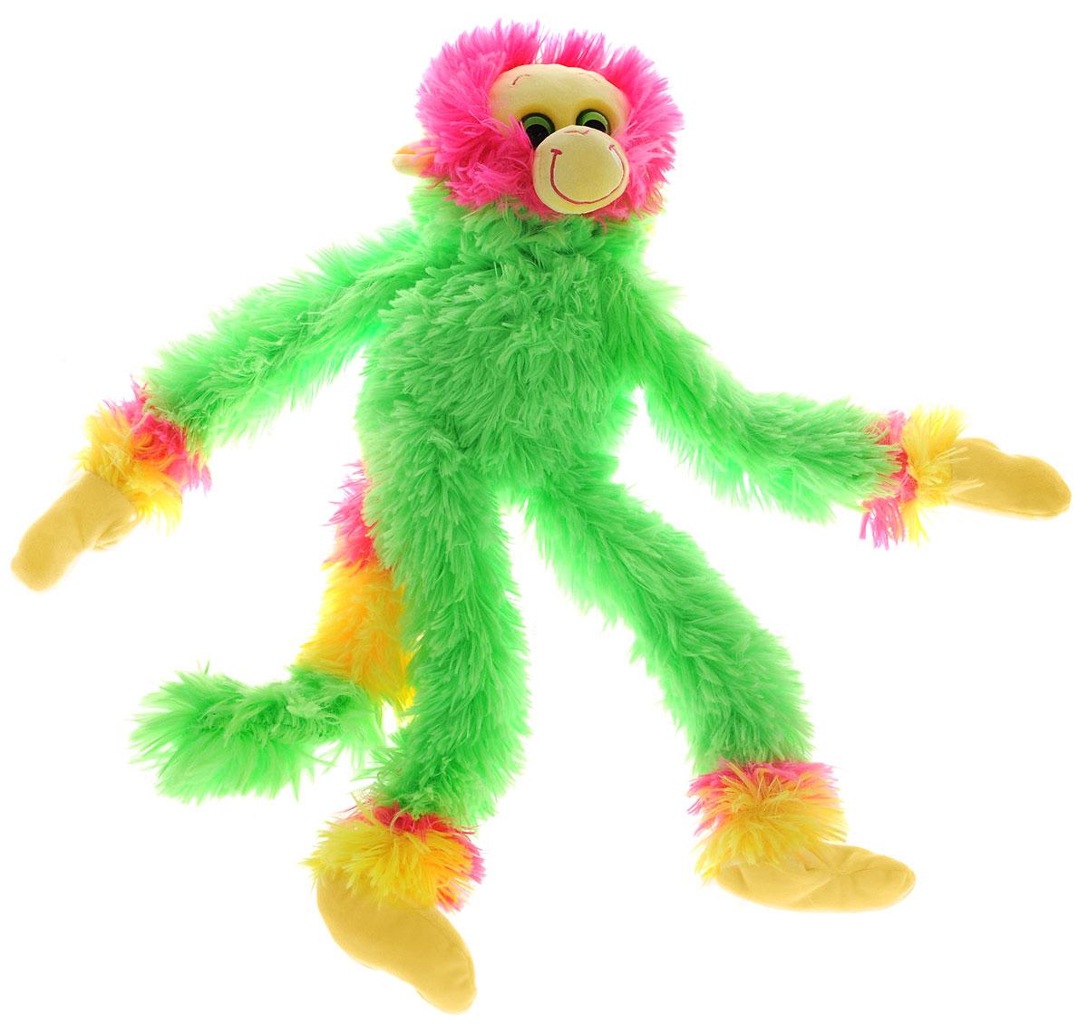 СмолТойс Мягкая игрушка Обезьянка Машка-обнимашка цвет салатовый 60 см