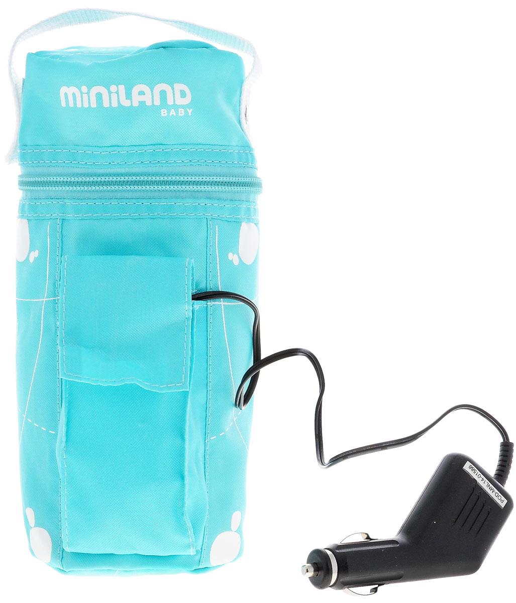 Miniland Нагреватель бутылочек дорожный Warmy Travel цвет бирюзовый -  Все для детского кормления