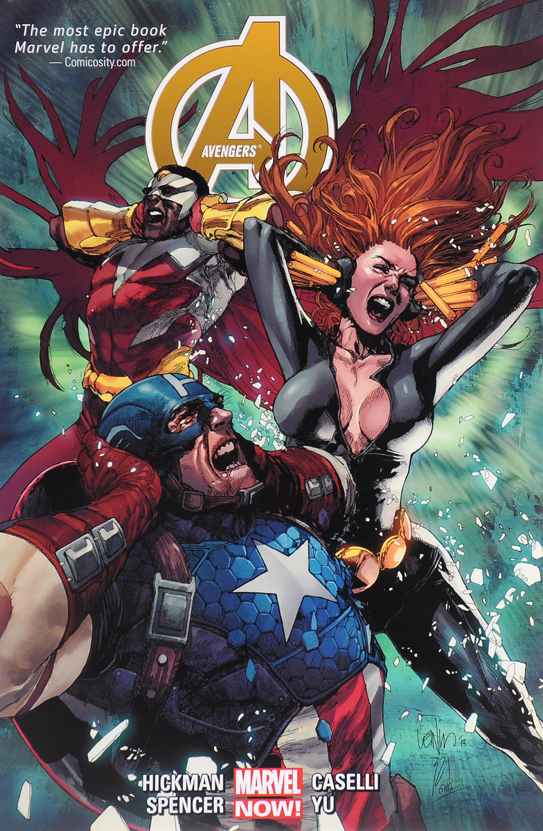 Avengers by Jonathan Hickman Volume 2 the lotus of brahma volume i porphyrins and the biological universe