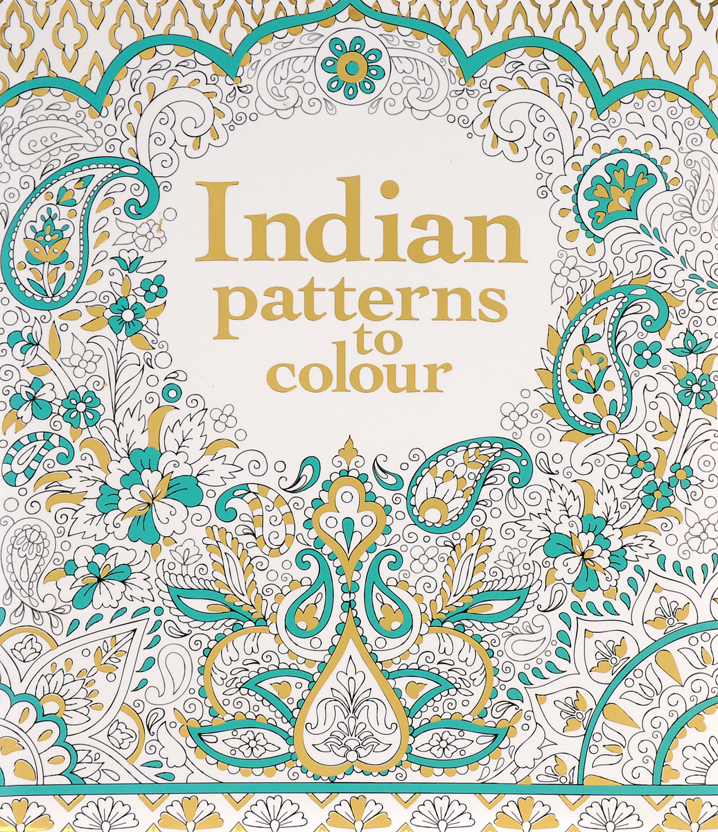 INDIAN PATTERNS TO COLOUR цены