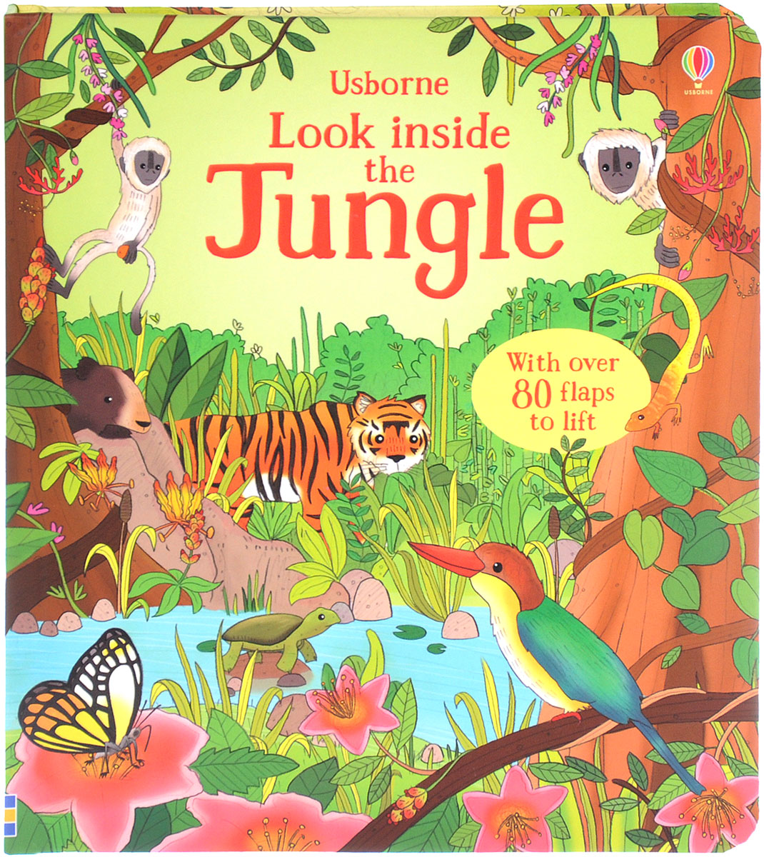 Usborne Look inside the Jungle peep inside the garden