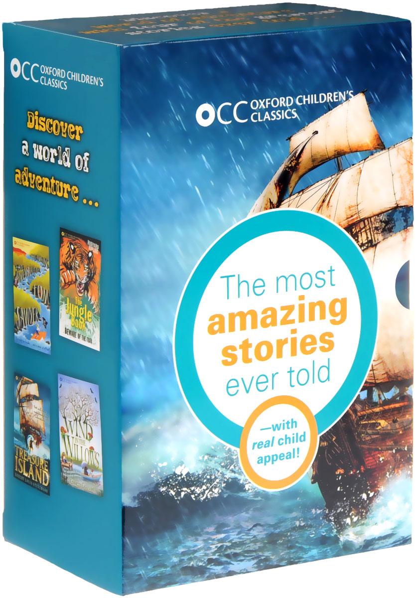 Купить Oxford Children's Classics World of Adventure Box Set (комплект из 4 книг),