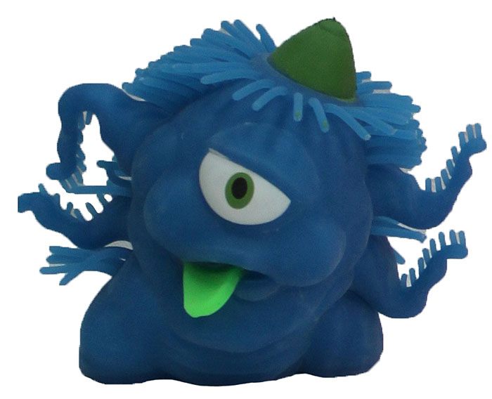 1TOY Игрушка-антистресс Ё-Ёжик Инопланетянин одноглазый цвет синий 1toy игрушка антистресс ё ёжик животное цвет бежевый