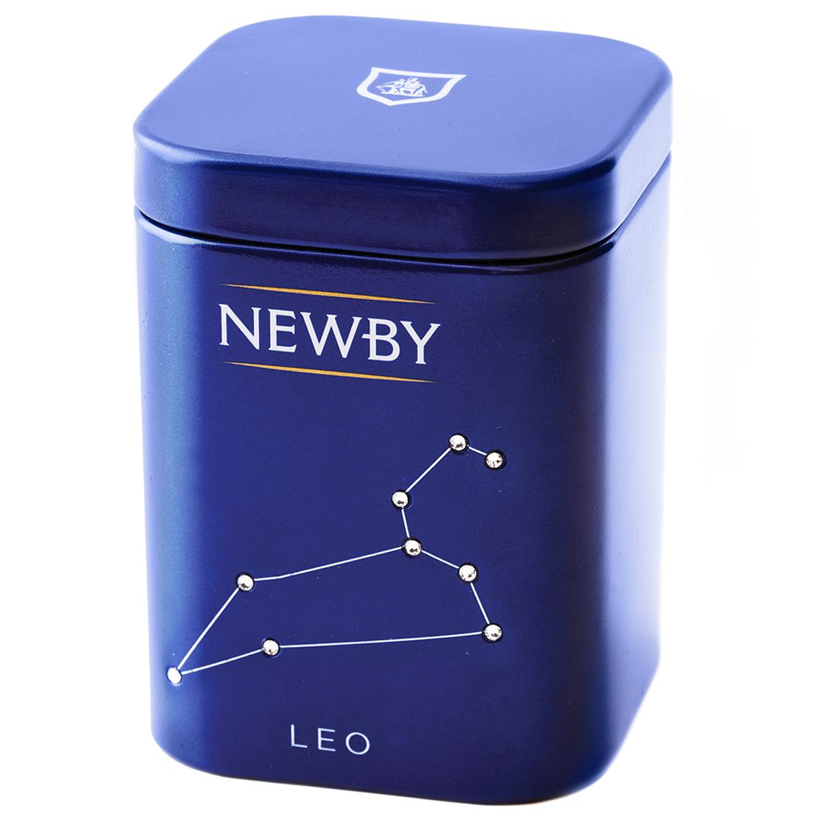 Newby Leo Assam подарочный набор листового чая, 25 г (ж/б) newby assam черный чай в пакетиках 25 шт