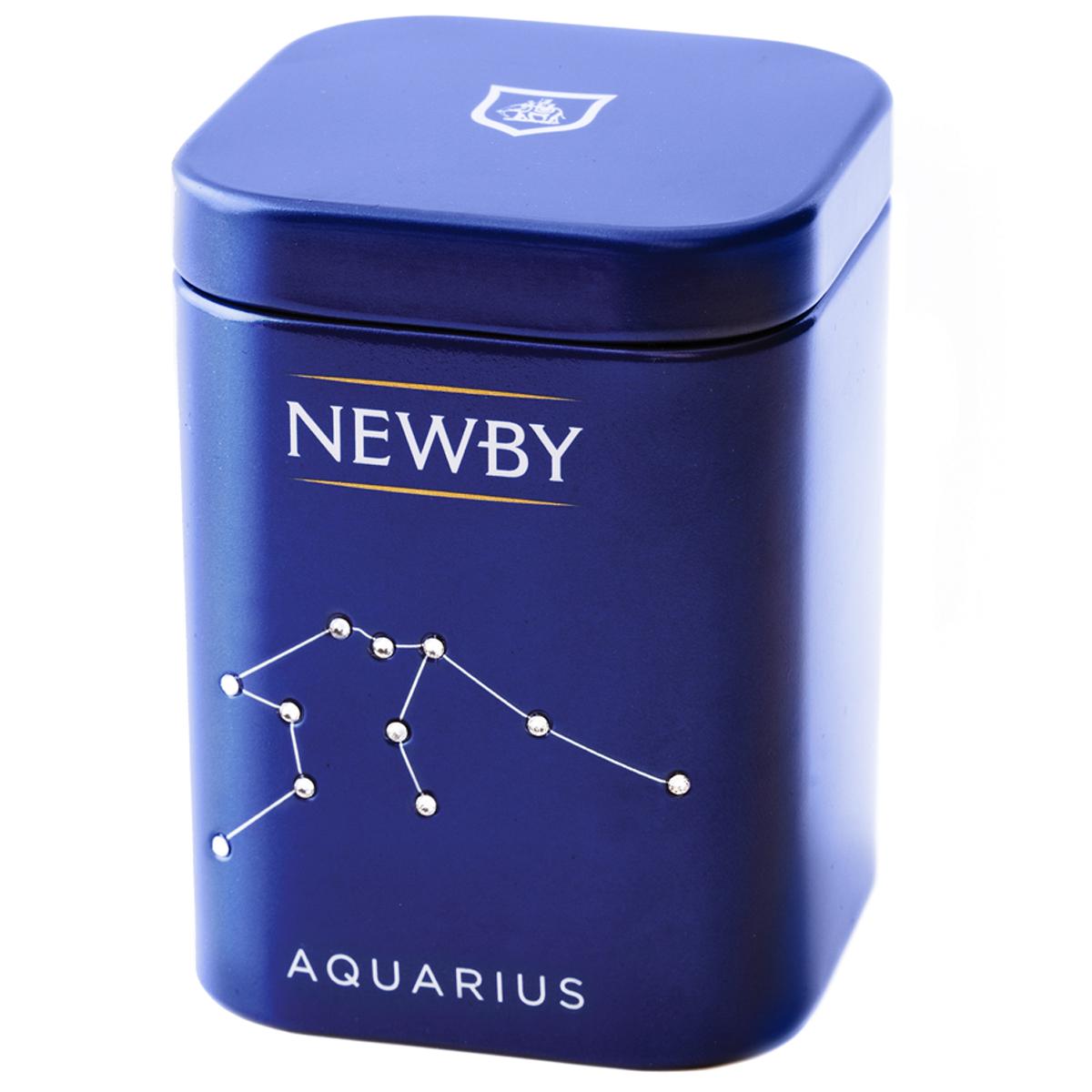 Newby Aquarius Darjeeling подарочный набор листового чая, 25 г (ж/б) недорго, оригинальная цена