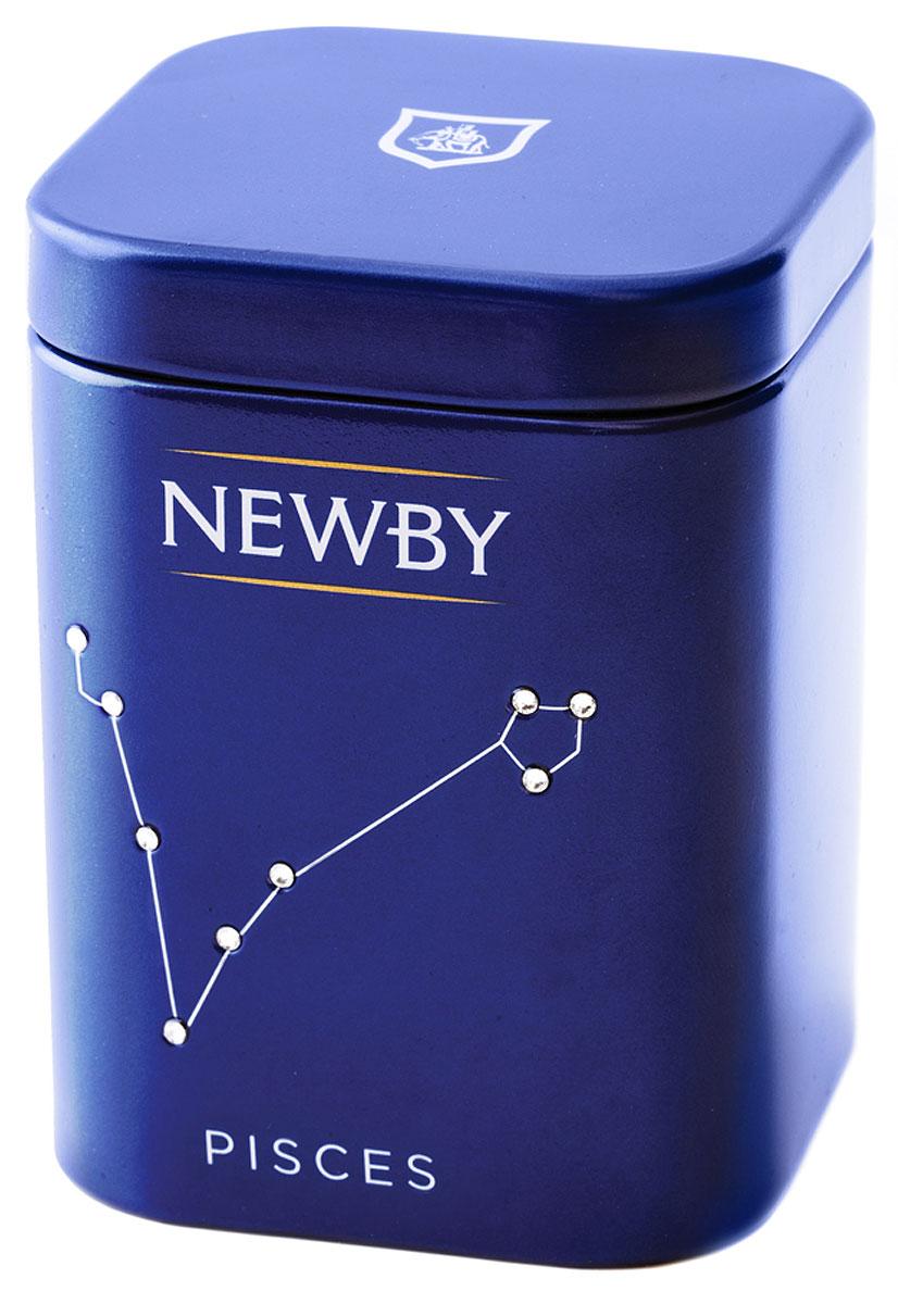 Newby Pisces Green Sencha подарочный набор листового чая, 25 г (ж/б) newby taurus english breakfast подарочный набор листового чая 25 г ж б