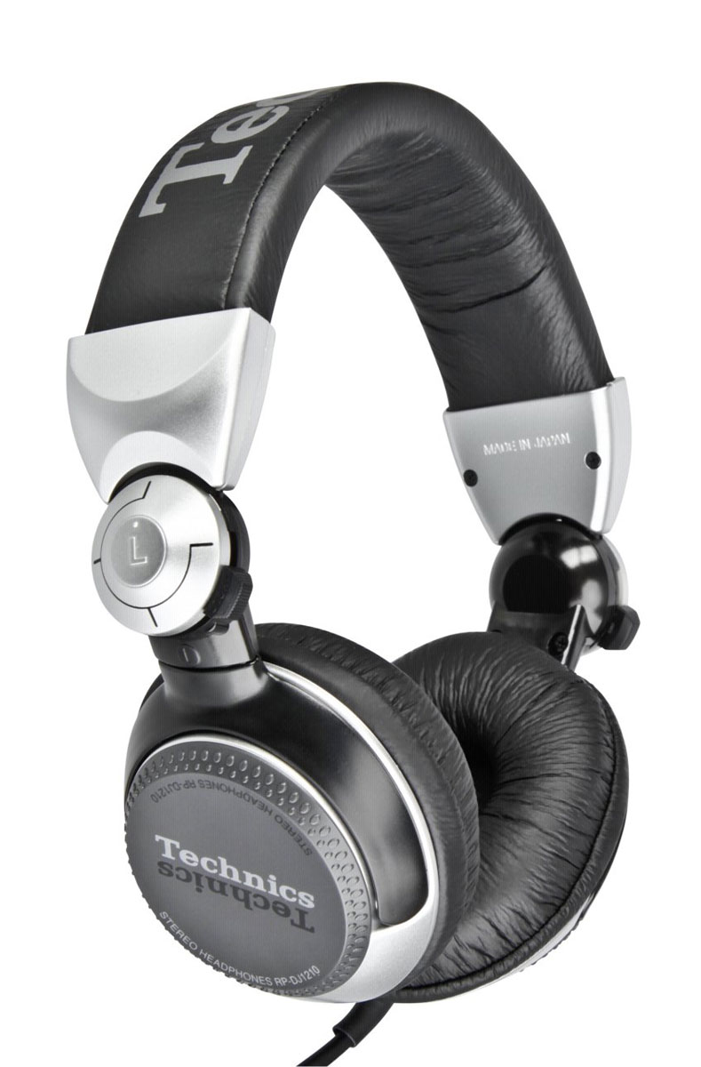 Technics RP-DJ1210E-S, Silver наушники technics technics rp dj1215e s