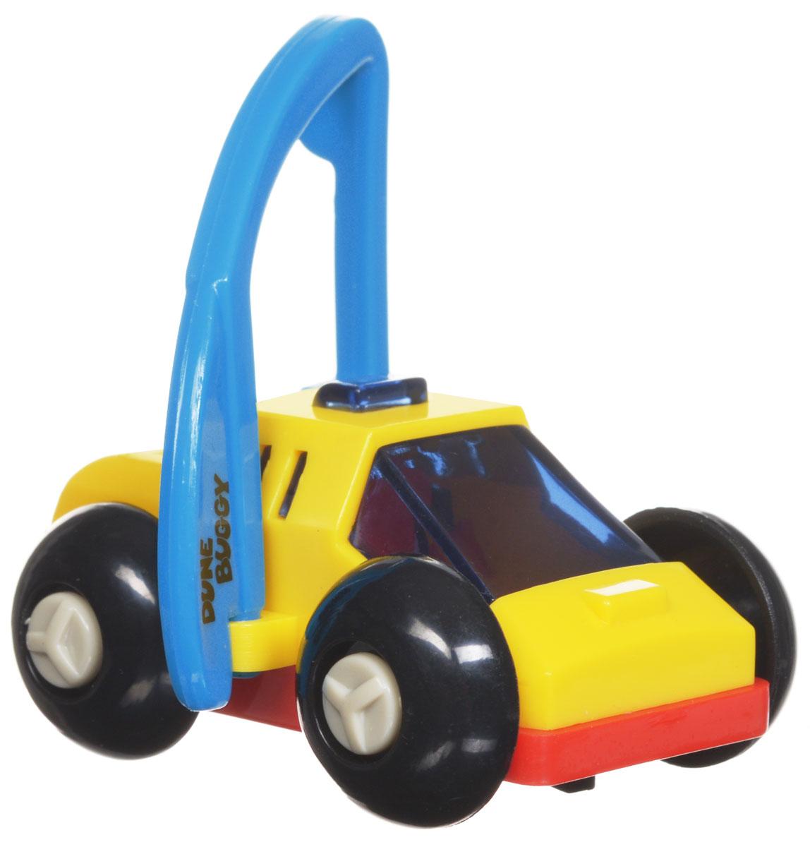Hans Игрушка заводная Багги цвет желтый красный голубой форма волчок заводной цвет красный желтый синий
