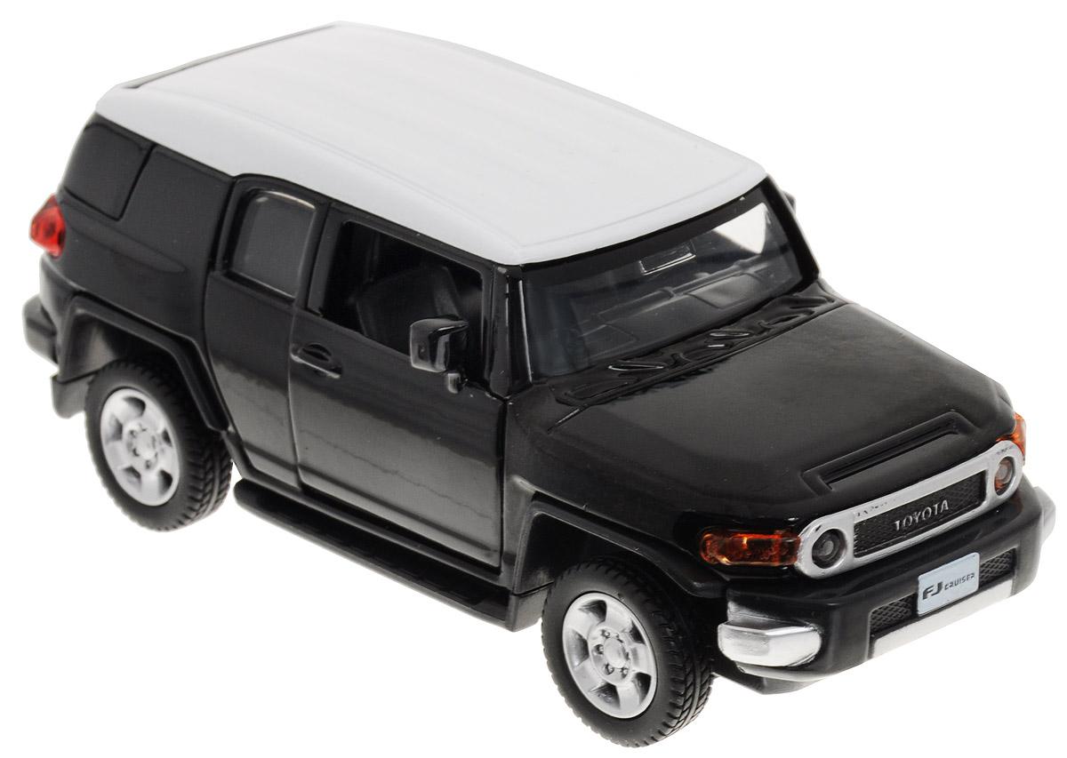 ТехноПарк Модель автомобиля Toyota FJ Cruiser цвет черный for toyota fj cruiser 2007 13 double