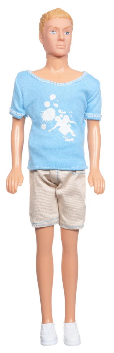 Simba Кукла Кевин спортсмен цвет голубой бежевый simba simba кукла кевин городская мода в ассортименте