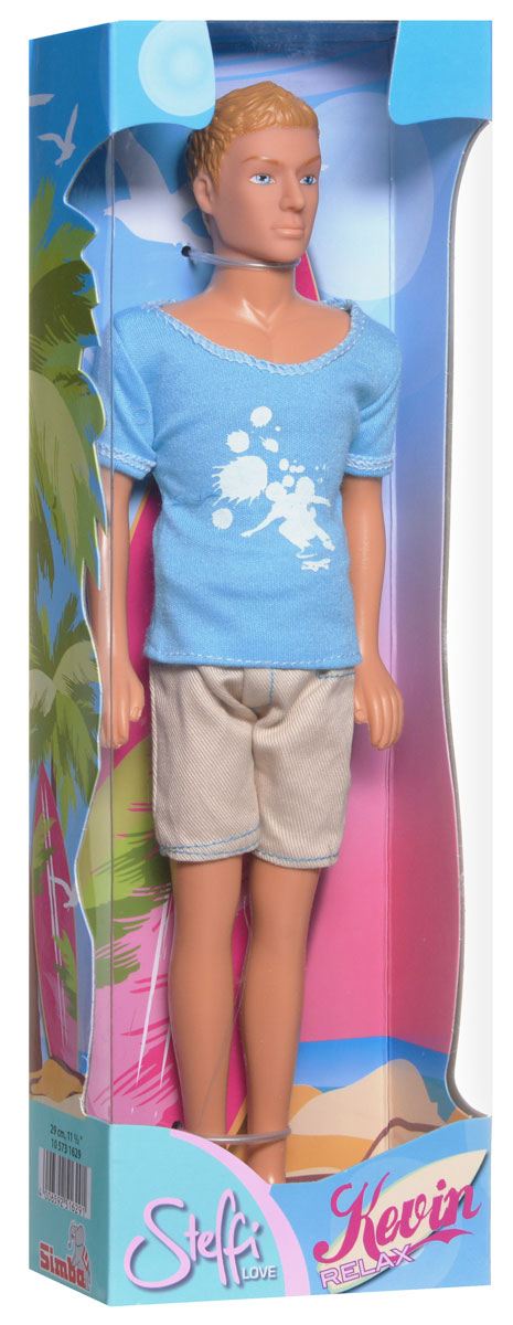 SimbaКукла Кевин спортсмен цвет голубой бежевый Simba