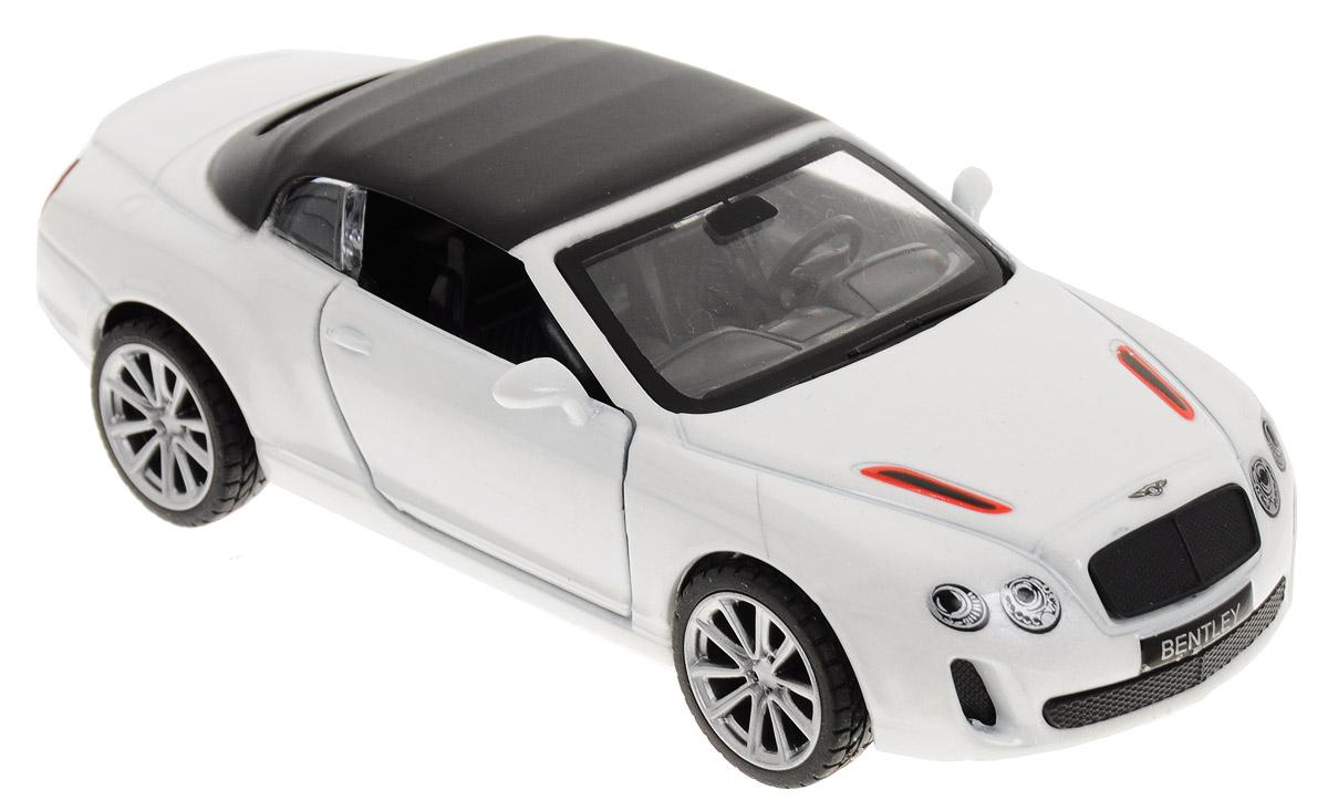 ТехноПарк Модель автомобиля Bentley Continental цвет белый машины технопарк машина bentley continental