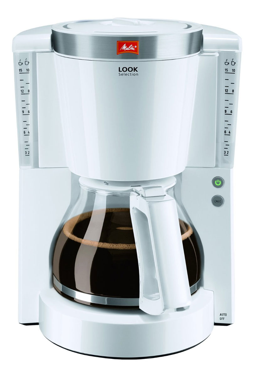 Melitta Look IV Selection, White кофеварка 20985