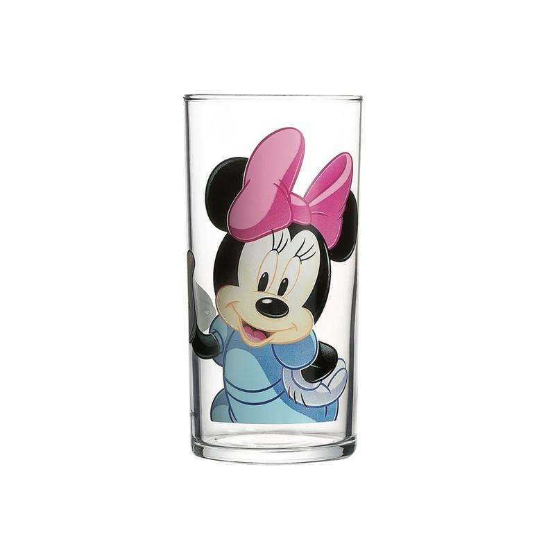 Стакан Luminarc Minnie Colors, 270 млG9173Стакан Luminarc Minnie Colors, изготовлен из высококачественного стекла. Такой стакан прекрасно подойдет для горячих и холодных напитков. Он дополнит коллекцию вашей кухонной посуды и будет служить долгие годы. Можно мыть в посудомоечной машине.