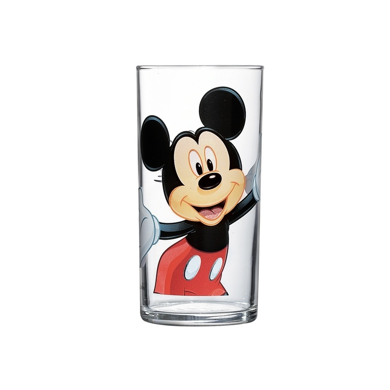 Стакан Luminarc Mickey Colors, 270 мл салатник luminarc disney colors mickey 17 см