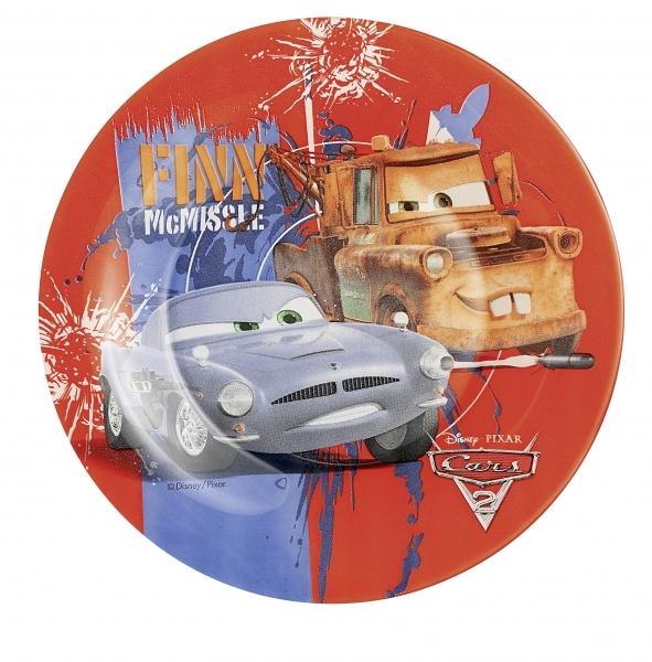 Тарелка десертная Luminarc Disney Cars, диаметр 19,5 смH1495Десертная тарелка Luminarc Disney Cars, изготовленная из ударопрочного стекла, имеет приятный внешний вид. Такая тарелка обязательно понравится вашему ребенку. Идеальна для подачи десертов, пирожных, тортов и многого другого. Она прекрасно оформит стол и станет отличным дополнением к вашей коллекции кухонной посуды. Диаметр тарелки (по верхнему краю): 19,5 см.