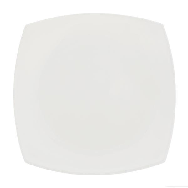 Тарелка десертная Luminarc Quadrato, цвет: белый, 19 х 19 см блюдо luminarc quadrato black 35 см х 25 5 см