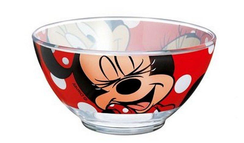 Салатник Luminarc Oh, Minnie, 500 млH6442Салатник Luminarc Oh, Minnie, объемом 500 мл, порадует вашего ребенка. Идеален для сервировки легких летних салатов. Материал: ударопрочное стекло, устойчивое к резким перепадам температуры.Можно мыть в посудомоечной машине и использовать в СВЧ.