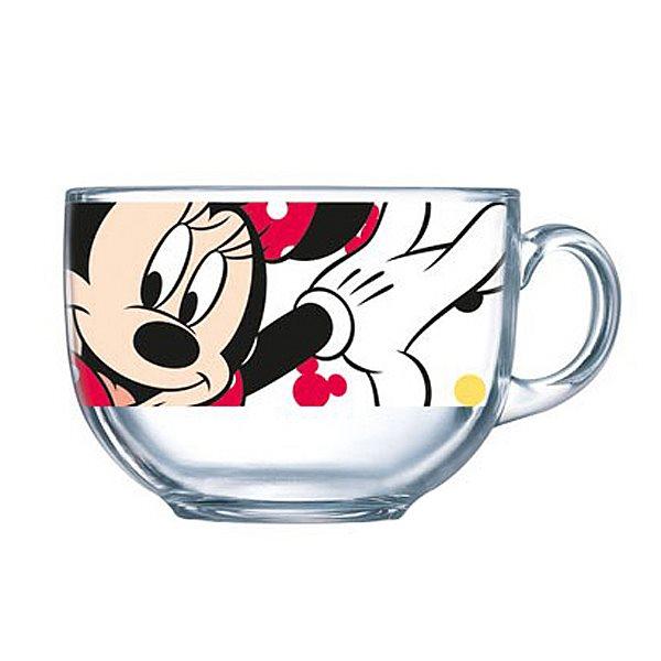 Бульонница Luminarc Oh, Minnie, 400 млH6443Кружка-джамбо марки Luminarc, украшенная изображением очаровательной подружки знаменитого Микки Мауса, придется по душе любой девочке. Из яркой кружки с рисунком веселой мышки можно не только пить чай или сок, но есть мюсли, каши и салаты – если использовать ее как пиалу. Легкая кружка-джамбо с удобной ручкой станет любимой посудой малышки. Изготовленная из качественного ударопрочного антибактериального стекла, не содержащего токсинов, кружка прочна и безопасна для ребенка. Ее можно мыть в посудомоечной машине и использовать в микроволновой печи.Объем кружки: 400 мл.