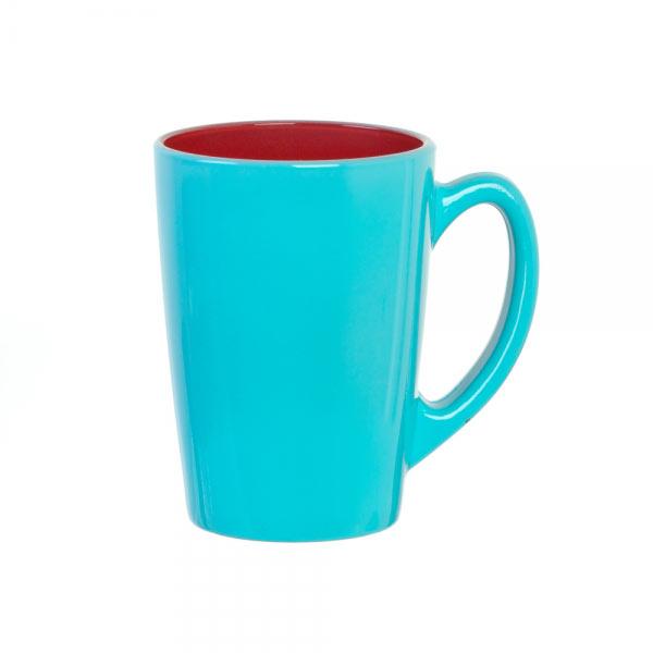 Кружка Luminarc Spring Break, цвет: голубой, малиновый, 320 млH8278Кружка Luminarc Spring Break изготовлена из упрочненного стекла. Такая кружка прекрасно подойдет для горячих и холодных напитков. Она дополнит коллекцию вашей кухонной посуды и будет служить долгие годы. Объем кружки: 320 мл.Диаметр кружки (по верхнему краю): 8 см.Высота кружки: 11 см.