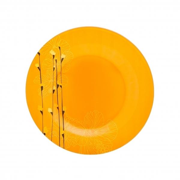 Тарелка десертная Luminarc Rhapsody, диаметр 19 смH8560Тарелка десертная Luminarc Rhapsody изготовлена из ударопрочного стекла. Такая тарелка прекрасно подходит как для торжественных случаев, так и для повседневного использования. Идеальна для подачи десертов, пирожных, тортов и многого другого. Она прекрасно оформит стол и станет отличным дополнением к вашей коллекции кухонной посуды. Изделие можно мыть в посудомоечной машине. Диаметр тарелки: 19 см.