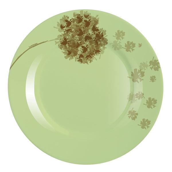 Тарелка Luminarc Stella Amande, диаметр 25 смJ1761Тарелка Luminarc Stella Amande, диаметром 25 см, изготовлена из ударопрочного, закаленного стекла, способного выдерживать значительные перепады температуры. Она подойдет для сервировки вторых блюд, а также ее можно использовать, как блюдо для подачи закусок. Современный дизайн и изящный цветочный декор сделают тарелку достойным украшением ваших любимых блюд.Тарелка не нуждается в особо бережном уходе, её можно мыть в посудомоечной машине и использовать в СВЧ.