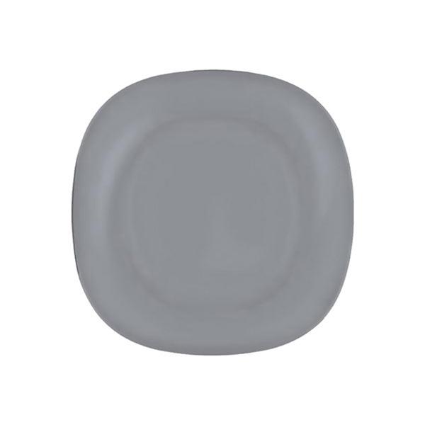 Тарелка десертная Luminarc Colorama, цвет: серый, 18 х 18 см тарелка глубокая luminarc freesia 21 х 21 см