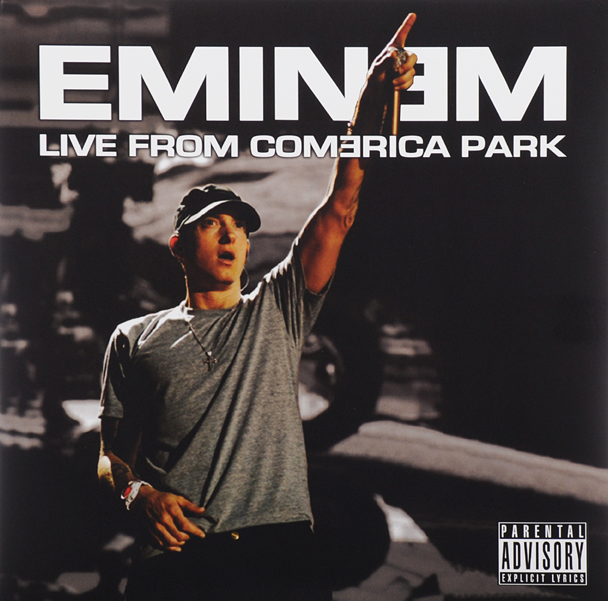 Eminem Eminem. Live From Comerica Park (2 LP) cd hugh laurie let them talk