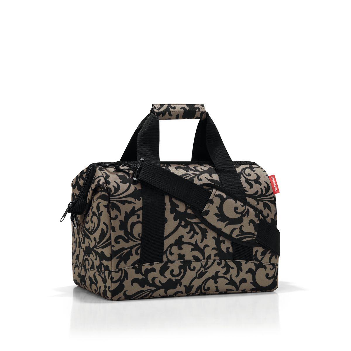 Сумка женская Reisenthel, цвет: бежевый, черный. MS7027 reisenthel сумка allrounder l dots e5x dkcr