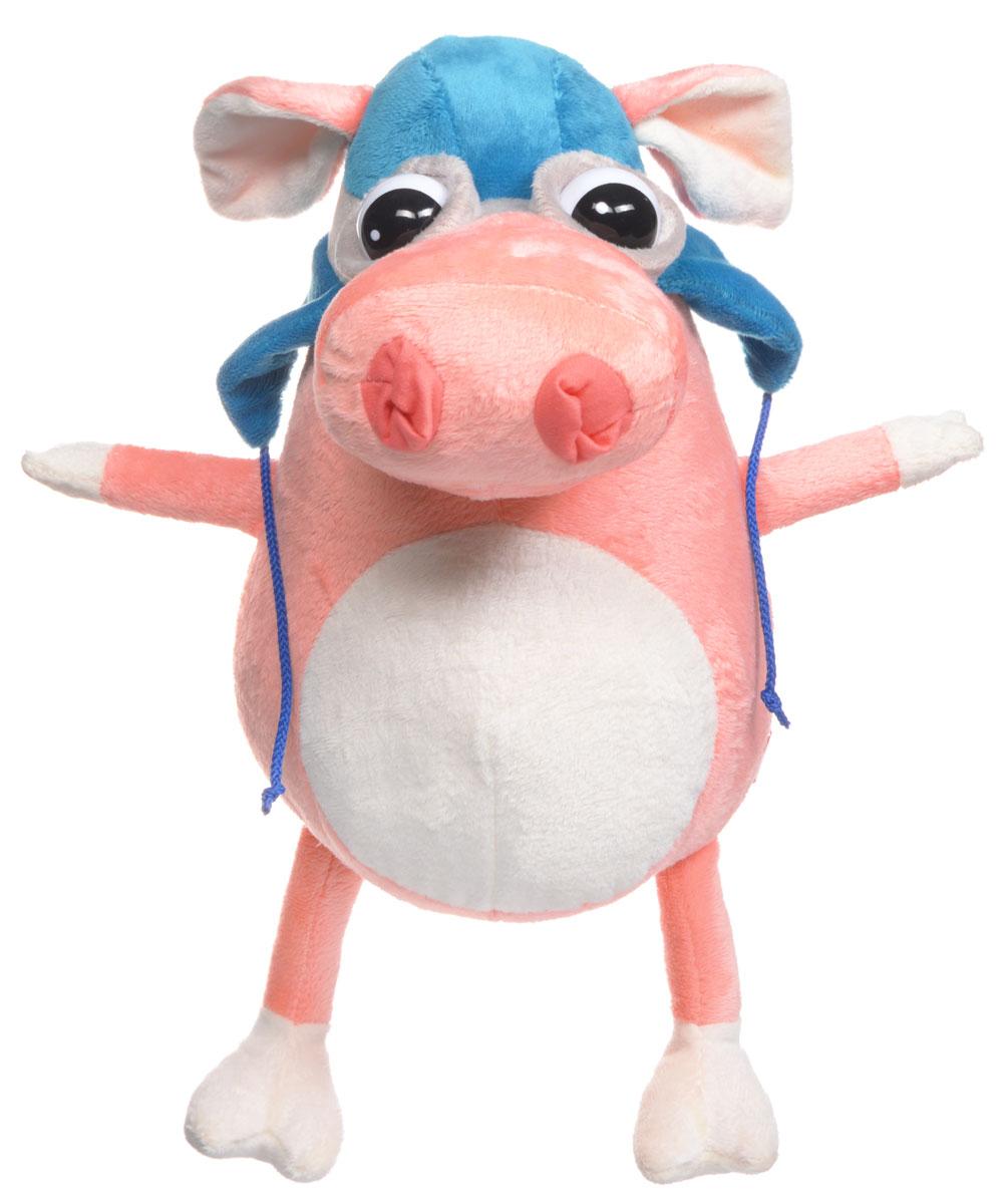 Fancy Мягкая игрушка Свинка пилот 25 см fancy мягкая игрушка собака эля 14 5 см