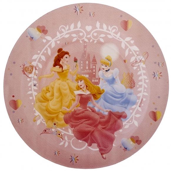 """Десертная тарелка Luminarc """"Disney Princess Beauties"""", изготовленная из  ударопрочного стекла, декорирована изображением диснеевских принцесс.  Такая тарелка прекрасно подходит как для  торжественных случаев, так и для повседневного  использования.  Тарелка Luminarc """"Disney Princess Beauties"""" идеальна для подачи десертов, пирожных, тортов и  многого другого. Она прекрасно оформит стол и станет  отличным дополнением к вашей коллекции кухонной  посуды.  Диаметр тарелки (по верхнему краю): 19,5 см.  Высота стенки: 1,6 см."""
