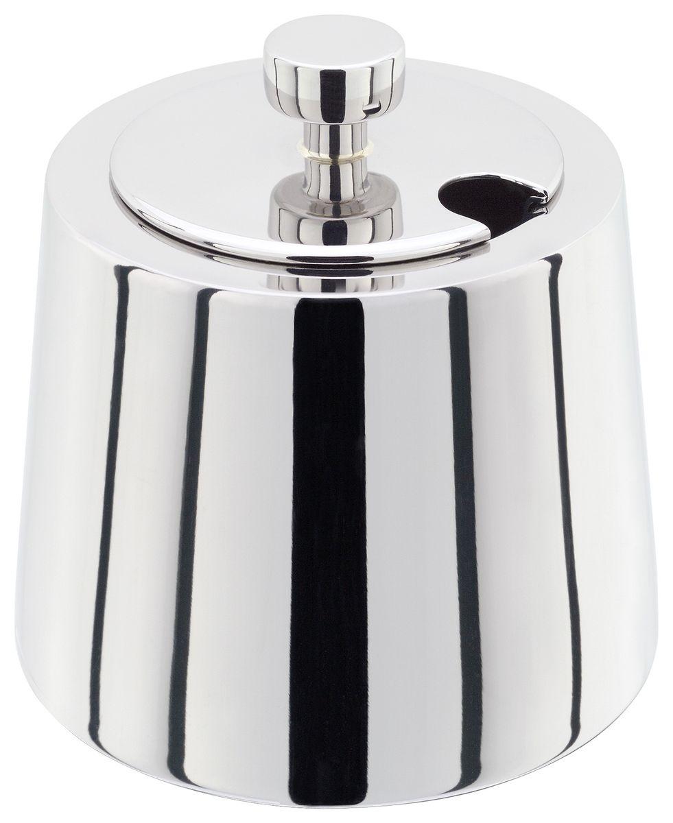 Традиционная английская сахарница Stellar Art Deco, с крышкойSC60Сахарница с крышкой Stellar Art Deco изготовлена извысококачественной нержавеющей стали и выполнена втрадиционном английском стиле. Оригинальный дизайн позволит украсить любуюкухню, внеся разнообразие, как в строгий классическийстиль, так и в современный кухонный интерьер.Порадуйте себя и близких классическим английским дизайном.