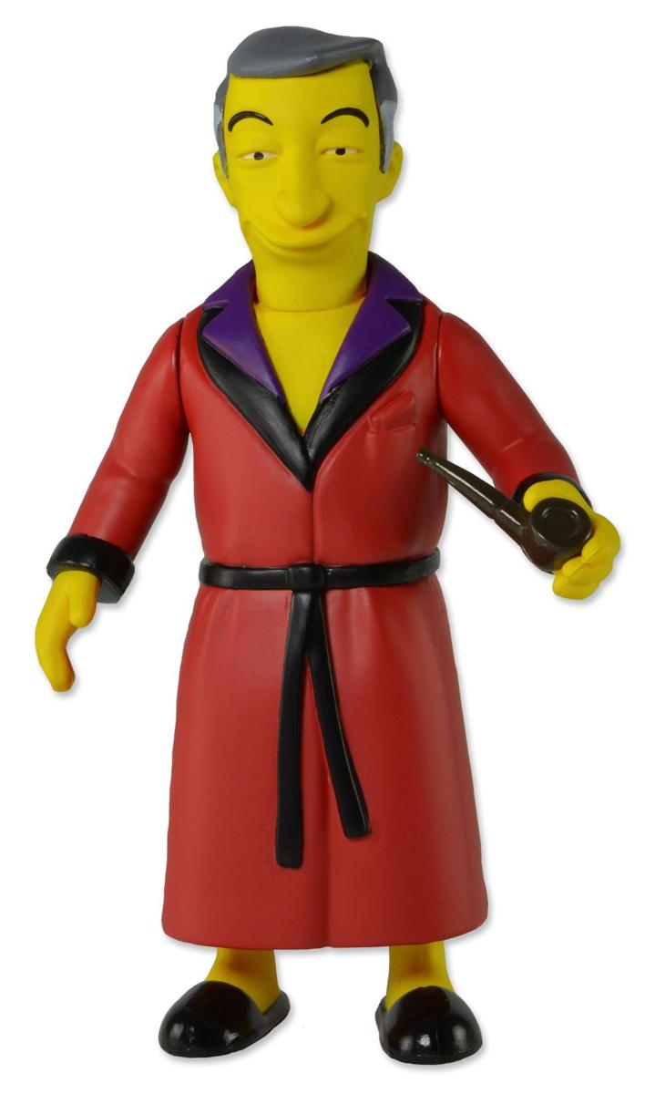 Симпсоны 25-летие. Фигурка Хью Хефнер серия 1 игрушки симпсоны