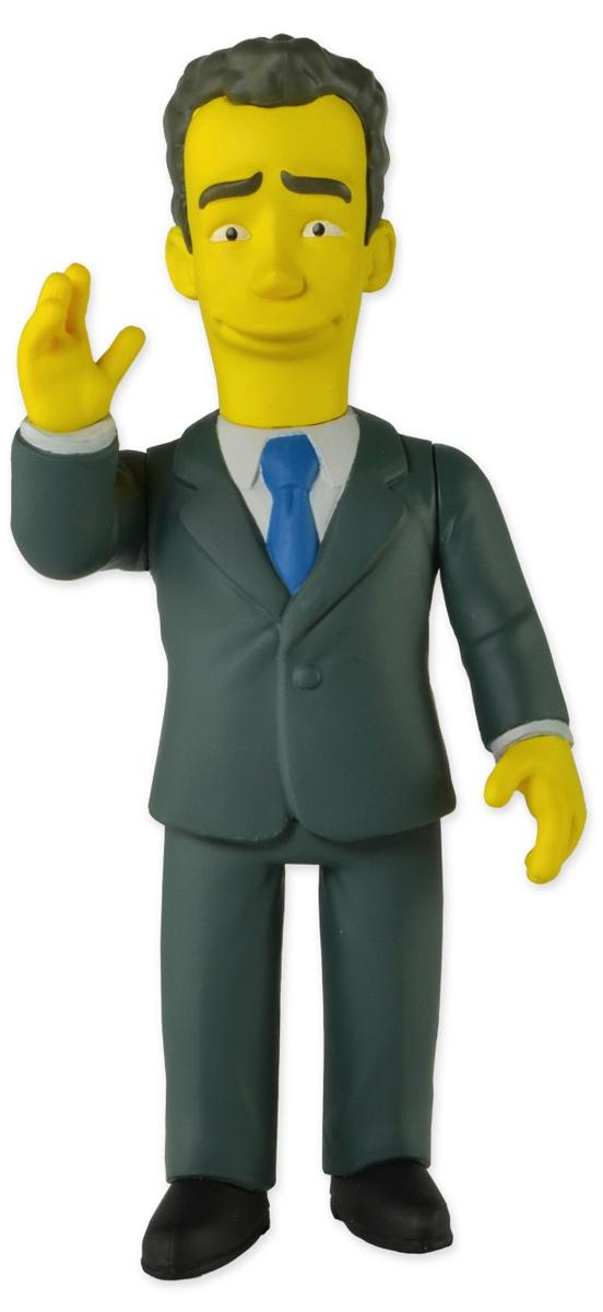 Симпсоны 25-летие.  Фигурка Том Хэнкс серия 1 Neca Inc.