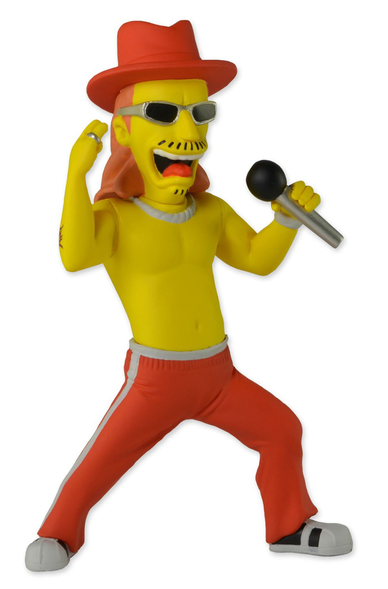 Симпсоны 25-летие. Фигурка Кид Рок серия 1 рыба линь большая штучки к которым тянутся ручки